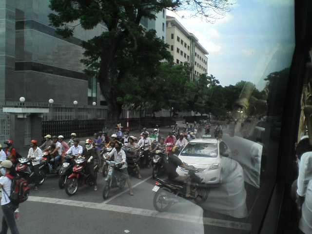 バイク多っ!!
