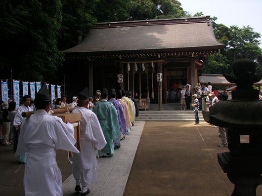 富岡八幡宮 祇園舟1