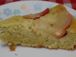 しっとり美味しいリンゴケーキ