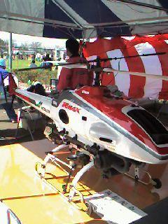 産業用小型ヘリ