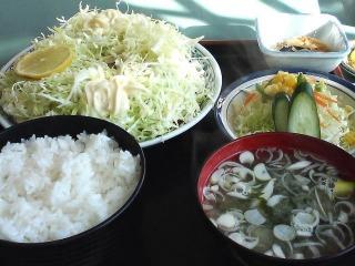 豚生姜焼定食