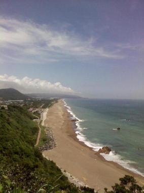 伊良湖岬の片浜十三里は太平洋岸に約50キロ続く海岸線