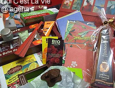 誕生日プレゼントはフランス産。