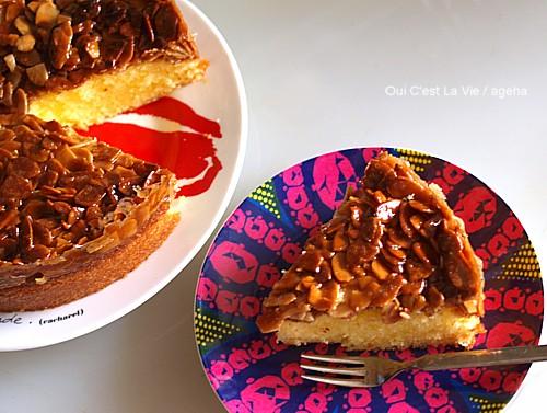 絶品アーモンドケーキ。