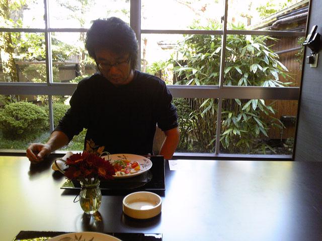 ヒロと前菜