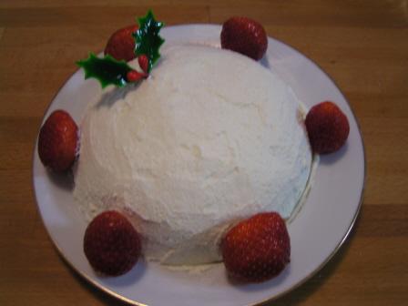 初めての手作りデコレーションケーキ