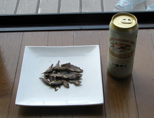 豆アジのフライ