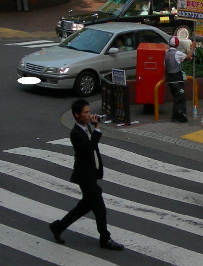 大森駅でハンディカムで撮影して来た男2