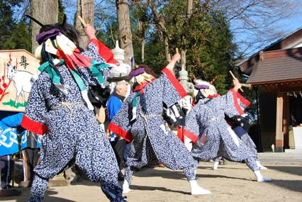 古宮神社獅子舞・10