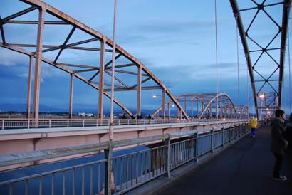 2011初日の出 刀水橋より・2