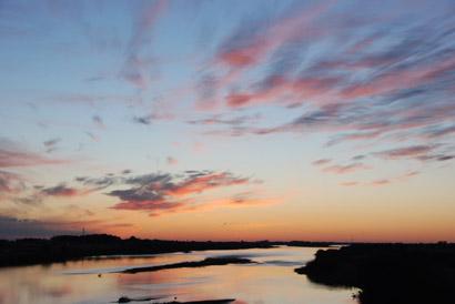 2011初日の出 刀水橋より・3