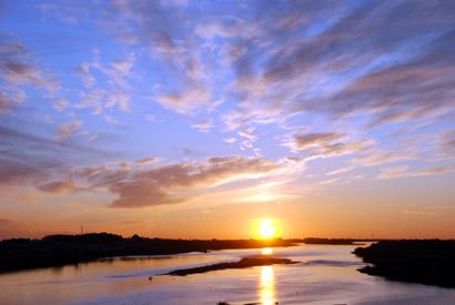 2011初日の出 刀水橋より・8