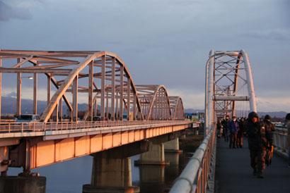 2011初日の出 刀水橋より・9