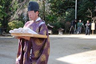 古宮神社獅子舞・2