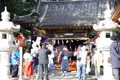 古宮神社獅子舞・3