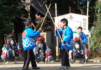 古宮神社獅子舞・5