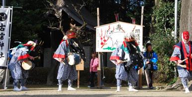 古宮神社獅子舞・6
