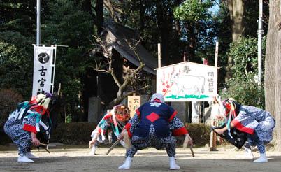 古宮神社獅子舞・7