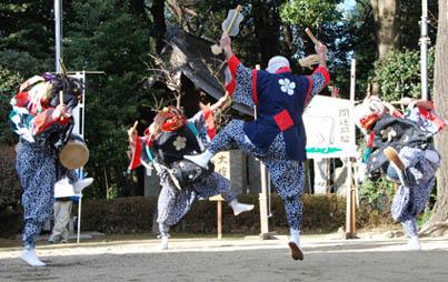 古宮神社獅子舞・8