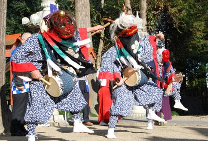 古宮神社獅子舞・9