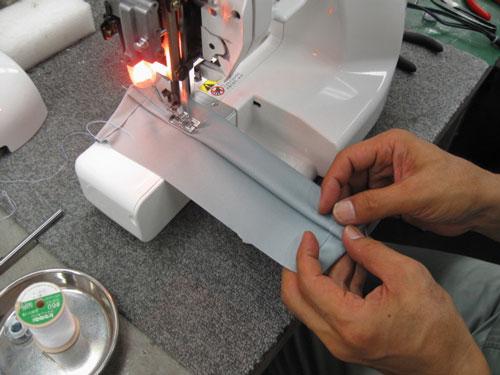 縫い始めを乗り越えればスムーズに進みます★