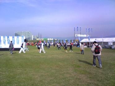 ハーフマラソン081102