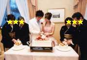 ケーキ入刀☆