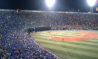 二回裏内野席 2007/03/30