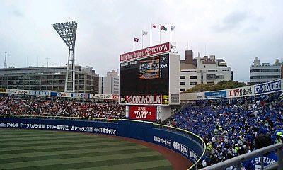 試合開始直前 2007/03/31