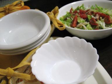 わが家の白いお皿たち