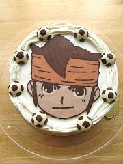 2011イナズマイレブンケーキ