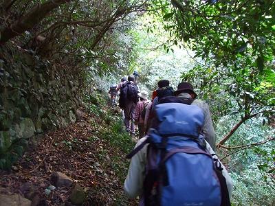 花沢山へ登る