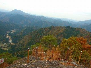 岩古谷山から見る景色