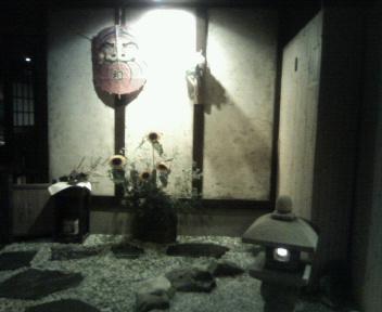 仁松庵 玄関