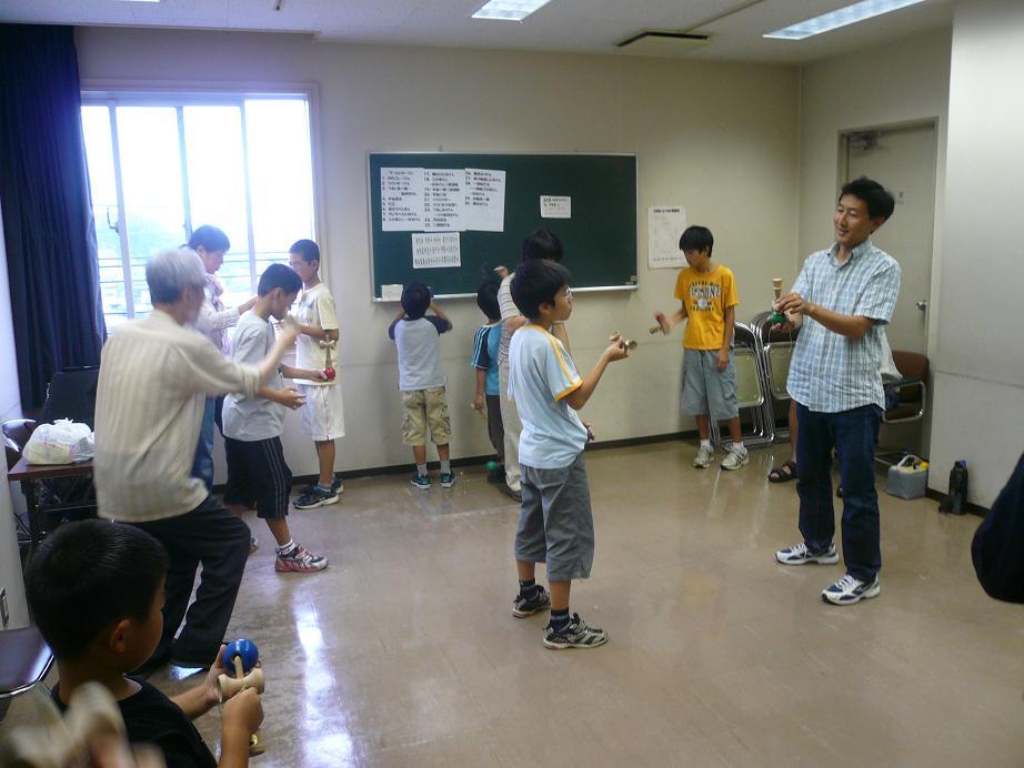 090912鎌ヶ谷各自の自由な技の練習.JPG