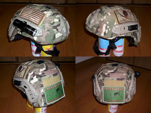 MICH2001ヘルメットカバー