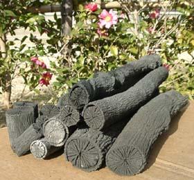 茶炭で有名な池田炭