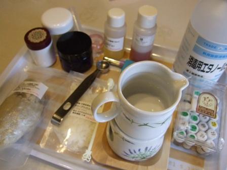 手作り化粧品道具