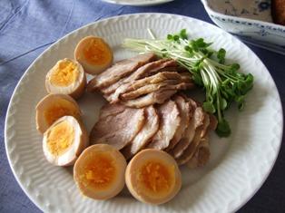 圧力鍋で煮豚
