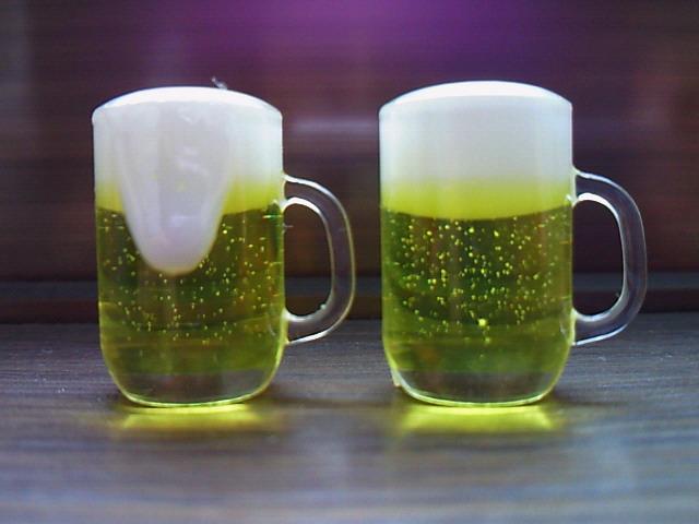 ビール泡入り1
