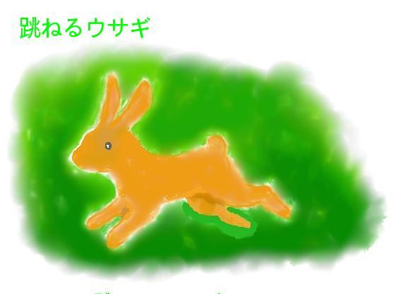 跳ねウサギ
