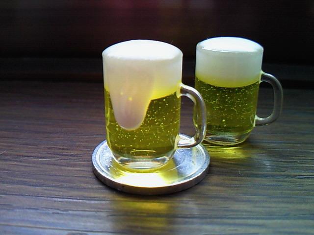 ビール泡入り3