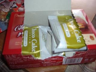 お菓子3個
