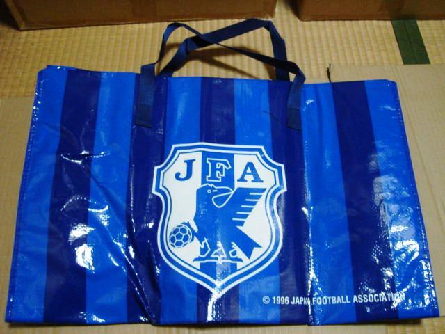 サッカー日本代表チーム レジャーシートバッグ *エンブレム