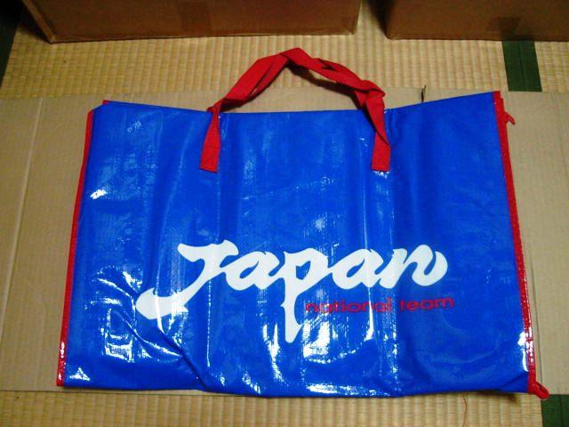 サッカー日本代表チーム レジャーシートバッグ *Japan