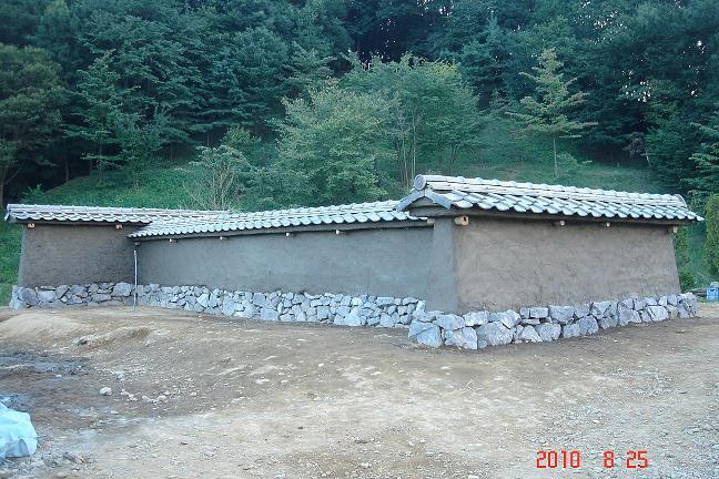 版築 築地塀