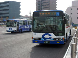 知多バス 知多半田発空港行き