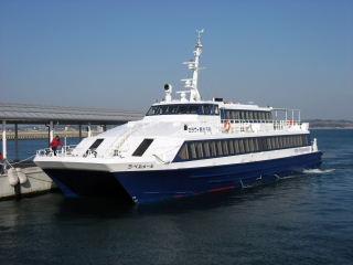 セラヴィ観光汽船 ラ・ベルメール 四日市行き