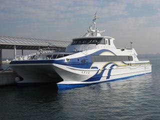 松阪高速船 すずかぜ 松阪港行き