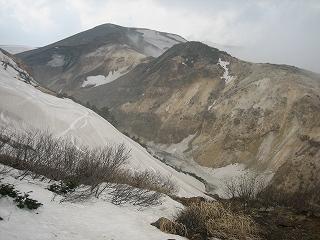 蔵王山頂から